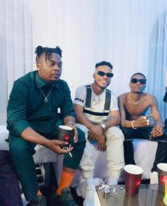 Poco Lee, Olamide and Wizkid