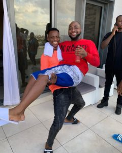 sydneytalker and davido comedy